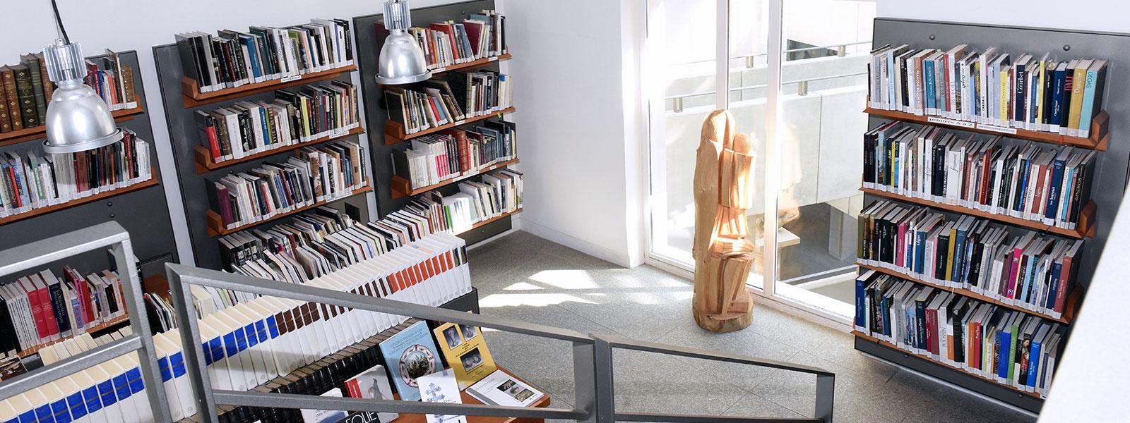 La bibliothèque du Musée