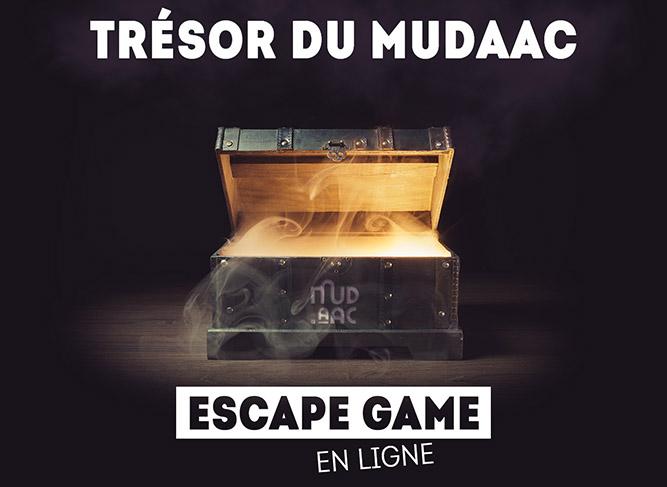 ESCAPE GAME EN LIGNE : TRÉSOR DU MUDAAC